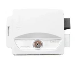 Fechadura elétrica IPEC 12 volts F90 Abre para Dentro - Branca