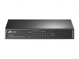 Hub-switch Tp-link 8 Portas PoE 10/100 TL-SF1008P