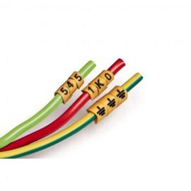 Marcador de fios 5,2 - 10mm²  Número 0