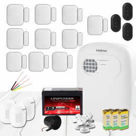 Kit Alarme Intelbras- ANM 3004 ST com 13 sensores