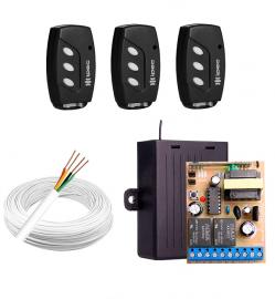 Kit para Fechadura Elétrica 12v abra com controle remoto