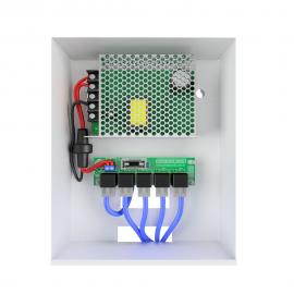 Distribuidor de vídeo 4x1 Onix com fonte de 5 amperes