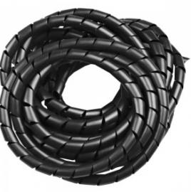 Tubo Espiral 3/8 PRETO F7138PEPR50 50 Metros - Frontec