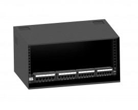 Combo Mini Rack 5U Onix + Patch Panel 24 Portas Furukawa