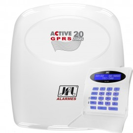 Alarme monitorado JFL Active 20 GPRS com aplicativo de celular