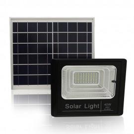 Refletor de Led 40W com Painel Solar com Controle HB Tech