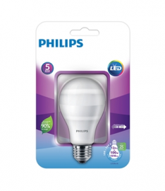 Lâmpada LED Bulbo 7,5W E27 Branca 6500K Bivolt - Philips