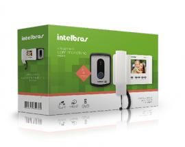 Vídeo porteiro IV 4010 HF Intelbras função Siga-me telefone fixo ou celular.