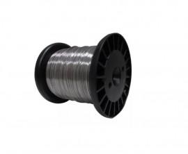 Fio de Aço Inox Inoxidavel Cerca Eletrica Liga 316L 0,90mm - Para Praia