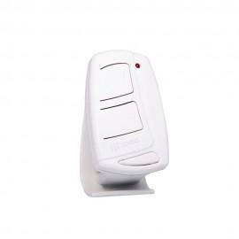 Controle Remoto 2 Canais 433 MHz Ipec TX Top - Branco