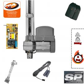 Kit Motor Portão Basculante PPA Potenza Predial SP 1/3 14 seg 127V 2 metros
