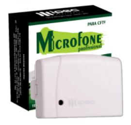 Microfone  Ideal Para Cftv - Ipec