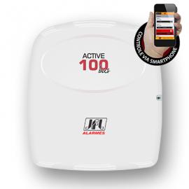 Central alarme monitorável Active 100 BUS 99 zonas com 16 partições reais