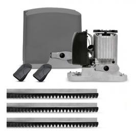 Kit Motor Portão Eletrônico PPA DZ R 500 KL Deslizante 1/3 127 Volts