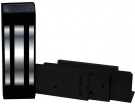Fechadura Magnética IPEC 12 Volts M150 ECO - Preta