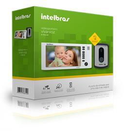 Vídeo porteiro IV 7010 HF Intelbras função Siga-me telefone fixo ou celular.