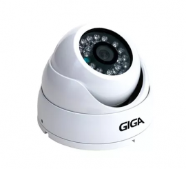 Câmera Dome GIGA AHD 1 Mega HD Lente 2,8mm GSHDP30DB28
