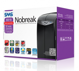 Nobreak Sms Station II 800va Monovolt 110 Volts