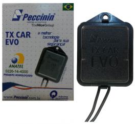Controle Remoto Tx Car EVO Peccinin 433,92mhz farol alto carro