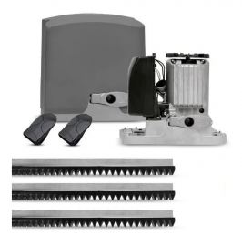 Kit Motor Portão Eletrônico PPA DZ R 500 KL Deslizante 1/3 220 Volts