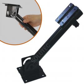 Suporte P/ Sensor De Barreira Infra Vermelho Ativo Universal 40 cm