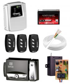 Kit Fechadura Ipec + Carregador IPEC