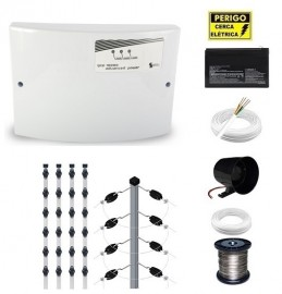 Kit Cerca Elétrica GCP Advanced Power 40 Metros Big Haste 80cm 25x25
