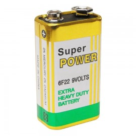 Bateria 9 Volts Super Power