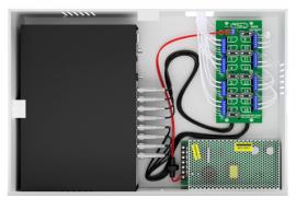 Rack Organizador Power Coaxial HD 3000 Onix 8 Canais