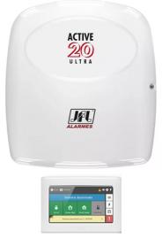 Alarme Monitorado Jfl Active 20 Ultra com Teclado Touchscreen