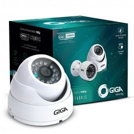Câmera Dome GIGA Starvis FULL HD GS0051 Filma colorido a noite