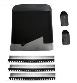 Kit Motor Portão Eletrônico PPA DZ Home Deslizante 1/4 220 Volts