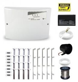 Kit Cerca Elétrica GCP Advanced Power 40 Metros Haste Tipo M 75 Cm