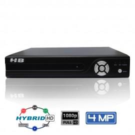 DVR 4 Canais HB Tech Full HD 4 Mega Detecção Facial 6 em 1 HB-6304