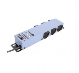 Filtro de Linha 6 Tomadas com 3 USB Ipec - Azul