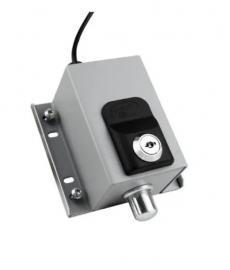 Trava Eletromagnética Dog Steel PPA Cinza 220v