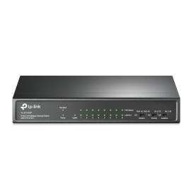 Switch Tp-Link 9 Portas (8 Portas PoE+) 10/100 TL-SF1009P