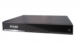 NVR 8 canais HB Tech 9308 POE 4K Detecção Facial
