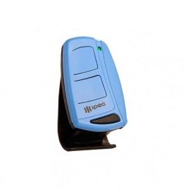Controle Remoto 2 Canais 433 MHz Ipec Top Mais - Azul