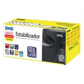 Estabilizador SMS - Progressive III Laser 1000VA ou W Bivolt Automático
