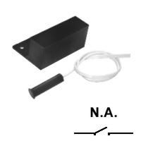 Sensor Magnetico Com fio De Sobrepor Externo para Porta de Aço